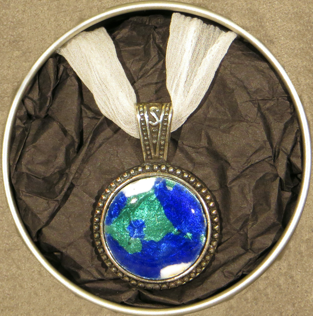 Blue Planet Medallion