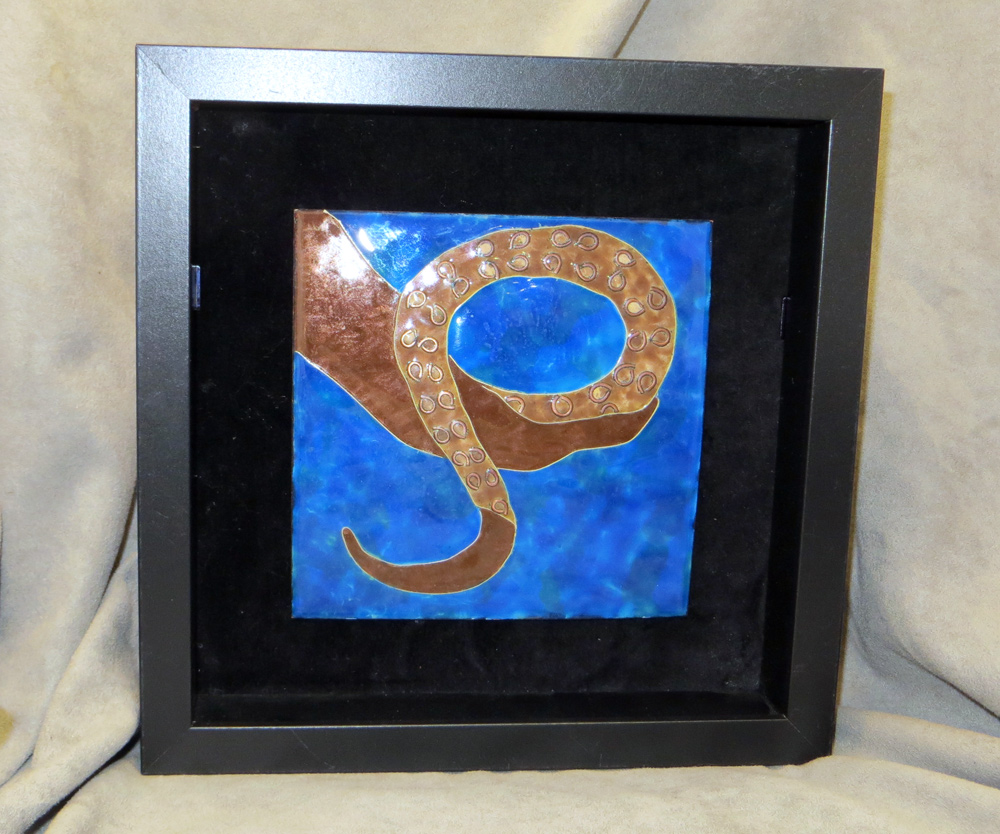 framed tentacle tile